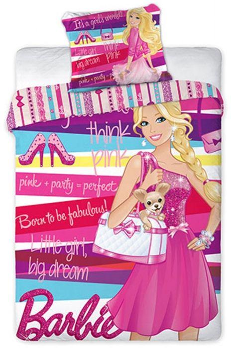 """Παπλωματοθηκη Barbie με την Τσιουάουα Παιδικη Σετ Ημίδιπλο Σχεδιο """"Stylish"""" - memoirs.gr"""