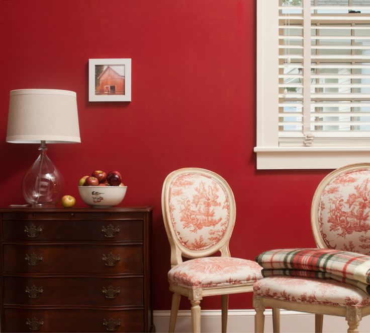 Benjamin Moore's Flamenco Red CSP 1195 Paint