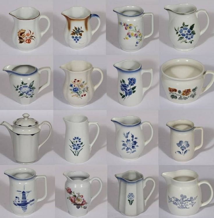Vintage Arabia pitchers Finland