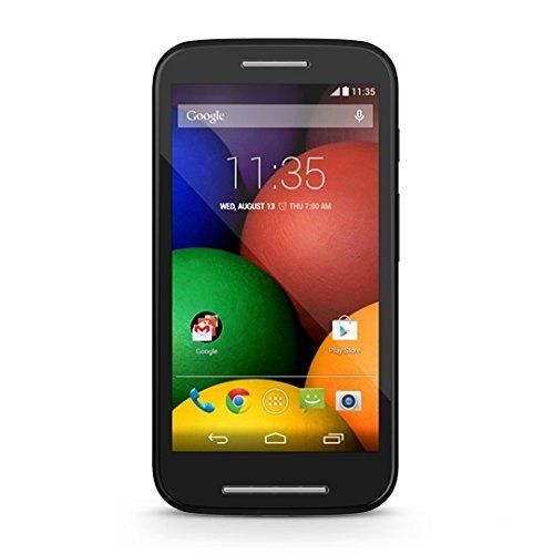 Motorola Moto E Android Prepaid Phone With Triple Minutes (Tracfone), 2015 Amazon Top Rated No-Contract Cell Phones #Wireless #motorolaphones