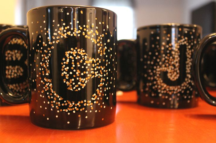 everyday letters: make your own mugs // union jack creative #diy