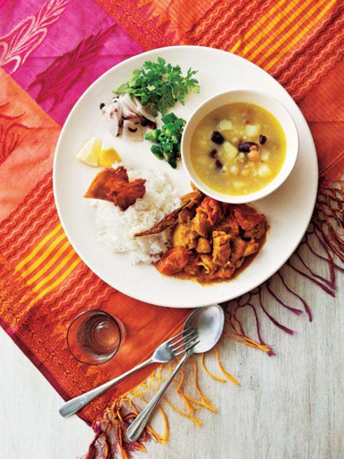 スープと野菜とチキンカレーが渾然一体! 簡単なのに贅沢なネパールのごちそう|『ELLE a table』はおしゃれで簡単なレシピが満載!