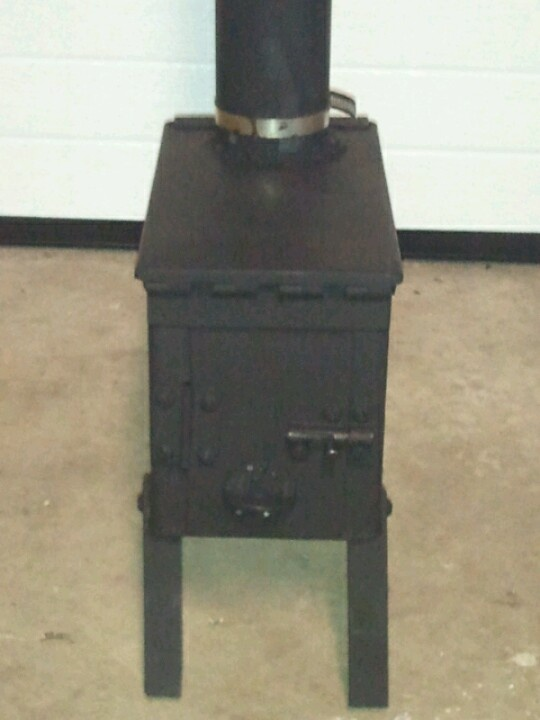 Wood stoves diy wood and stove on pinterest for Diy camp stove