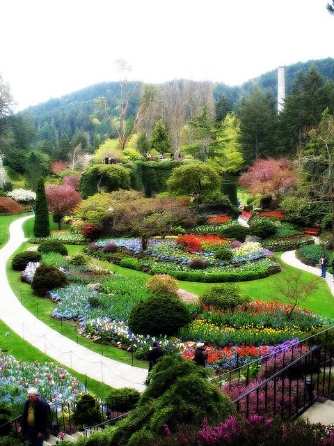 @Dawn MGB This one's for you babe. Butchart Gardens, Victoria, BC Photo by Beth Bryan