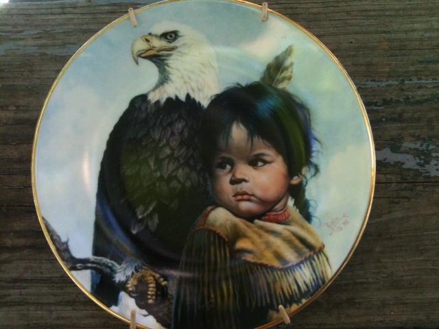 Native American Collector Plates