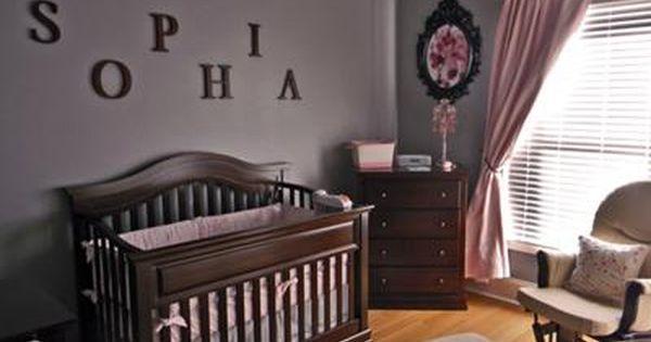 17 Best ideas about Nursery Dark Furniture on Pinterest