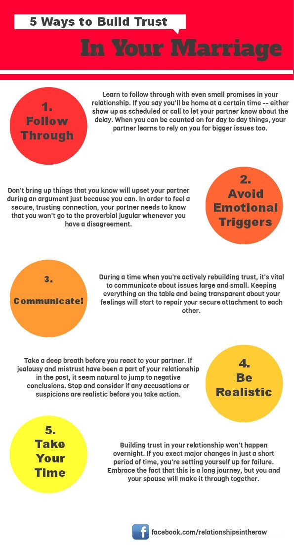 Quick tips: building #trust in your relationship.