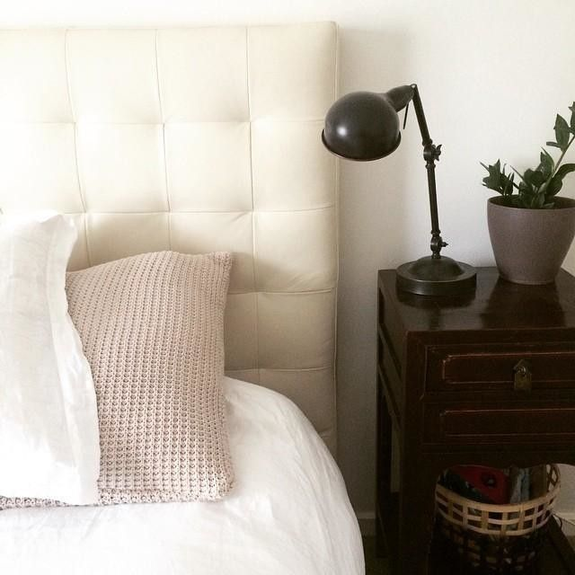 We Love Simple Bedside Tables Leaves Plenty Of Room For Treasured Knick Knacks And A Pile Of