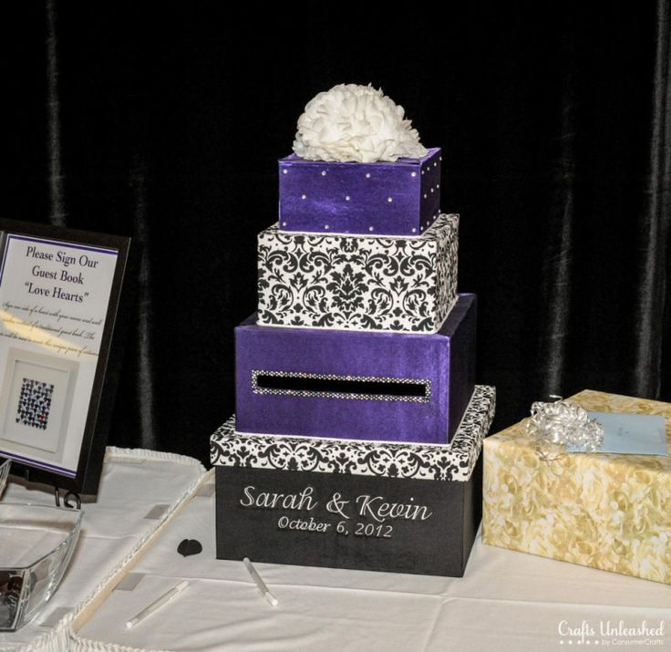 102 best fabulous wedding card boxes images on pinterest wedding diy wedding ideas for an amazing day crafts unleashed sciox Image collections
