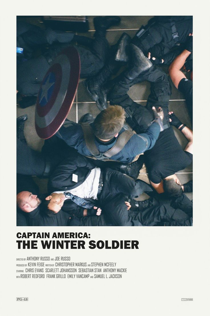 Captain America The Winter Soldier alternative movie poster