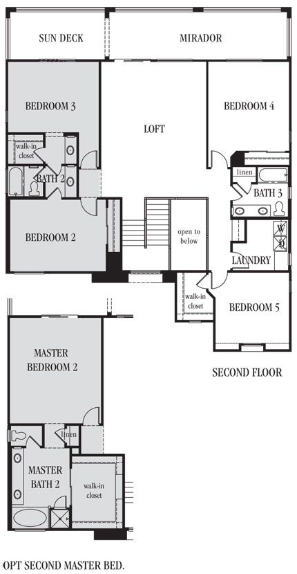1000 images about dream floor plans from lennarlv on for House plans with downstairs master bedroom