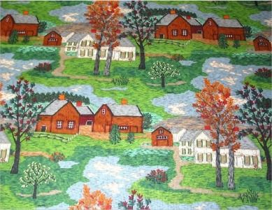 GRANDMA MOSES - Cycle 3, Week 13. art appreciation for kids