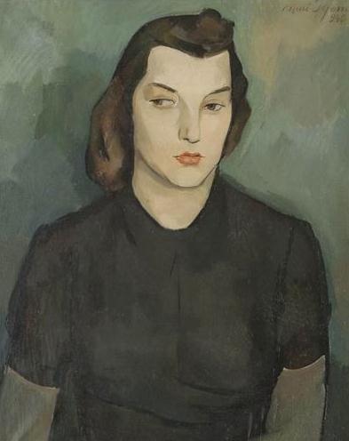 Nuri Iyem (Turkey 1915-2005), Portrait.
