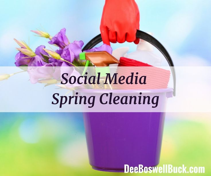 Spring has finally sprung!  I invite you to read my blog post for small business owners:  5 Spring Cleaning Tips For Social Media Accounts.  social media marketing tips small business