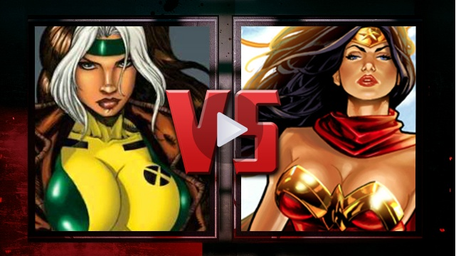 Who would win? Rogue or Wonder Woman? Find out here! http://www.izonorlando.com/2012/08/death-battle-season-1-episode-2-rogue-vs-wonder-woman/#