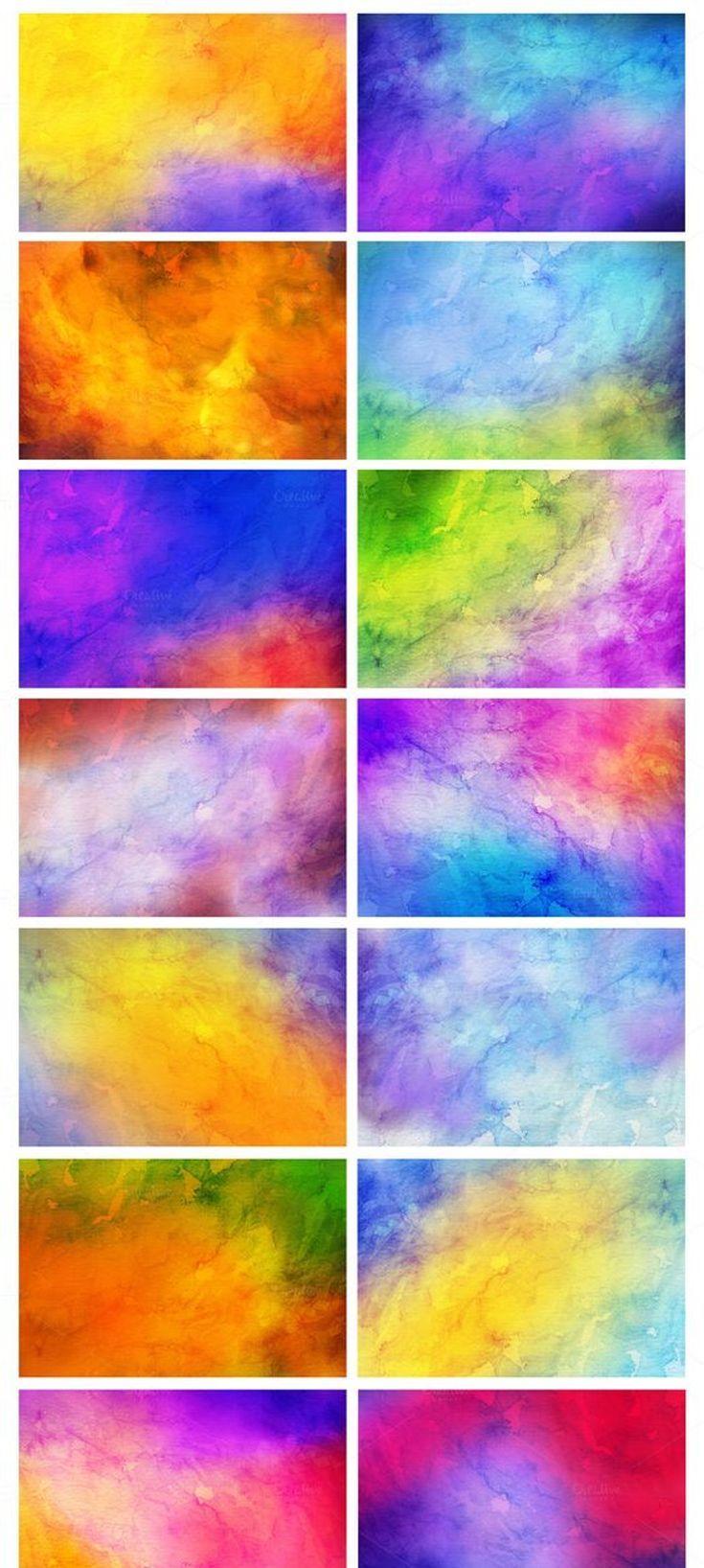 52 Watercolor Backgrounds Desktop Wallpaper Art Desktop