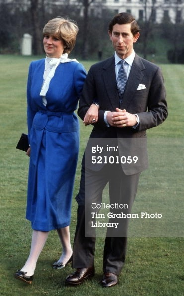 Charles & Diana on their Engagement