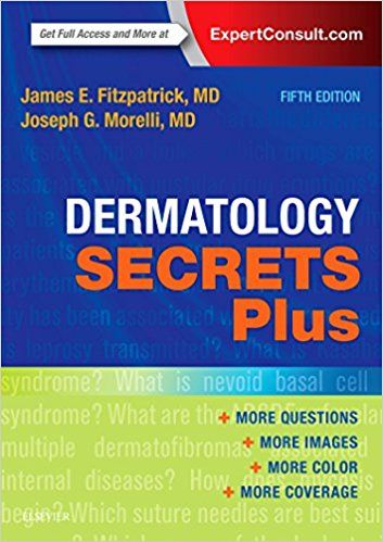 Dermatology Secrets Plus, 5e #usmle #books #pdf