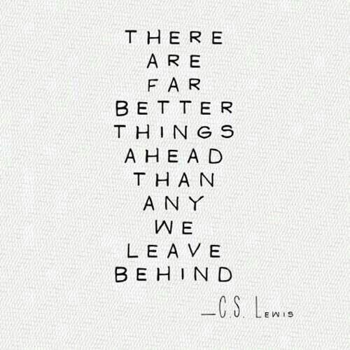 Cs Lewis Quotes New Beginning: Kerrie - Good Luck On Your New Job!!!