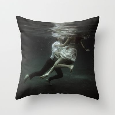 abyss of the disheartened : VII Throw Pillow by Heather Landis - $20.00  THIS IS NOT MARA DYER ... *DEAD*