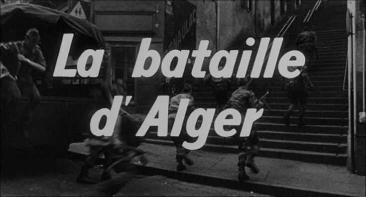 The Battle of Algiers (1965)