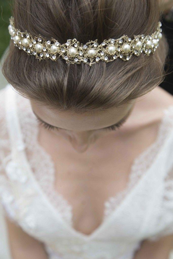 Acessórios de cabelo para noiva: 25 dicas de ouro - IC