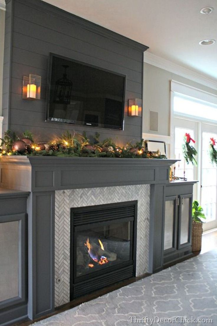 Fine 36 Popular Fireplace Design Ideas