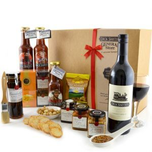 Dick Smith Foods Blokes BBQ Gift Hamper. Great products perfect for those who like to barbecue. All products made in Australia by Australian owned companies using Australian grown ingredients. All profits go to charity.