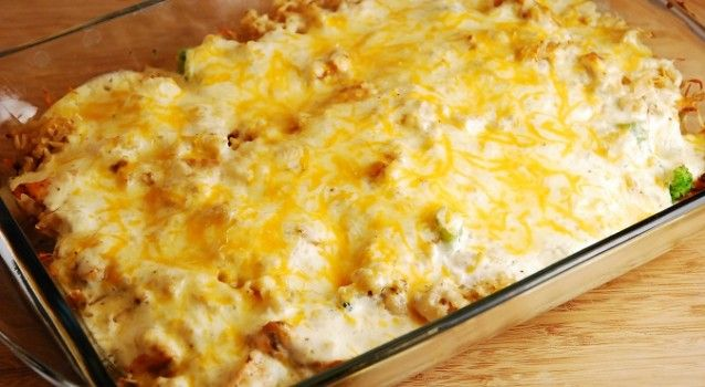 Κοτόπουλο σουφλέ με μανιτάρια, μπέικον & τυριά