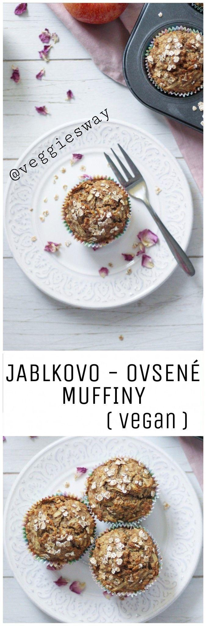Jablkovo - ovsené muffiny