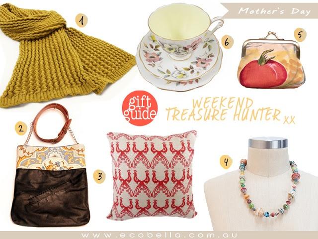 mother's day gift ideas - weekend treasure hunter - ecobella.com.au