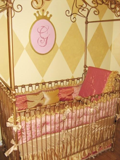 Baby Girl Bedroom Wallpaper 41 Best Princess Nursery Ideas Images On Pinterest Baby