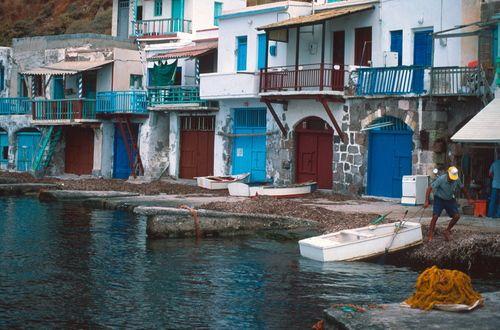 GREECE CHANNEL   Milos Island - Klima - Πανεμορφο Ψαροχωρι - Cyclades - Greece - By Stathis Chionidis