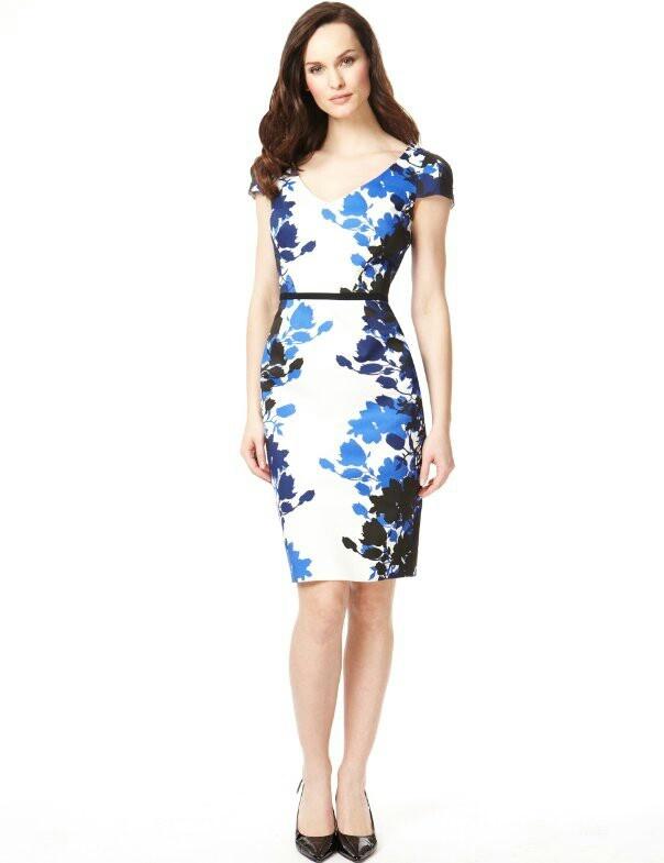 Marks And Spencer Pretty Fl Dress