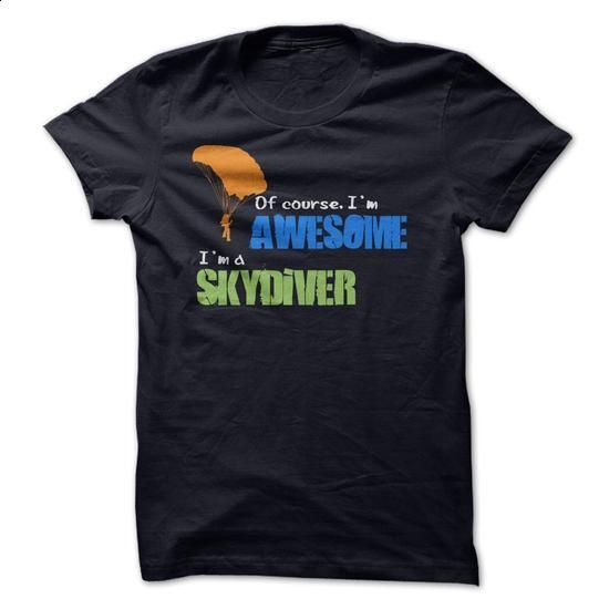 Im a Skydiver - #tee times #boys hoodies. BUY NOW => https://www.sunfrog.com/Sports/Im-a-Skydiver.html?60505