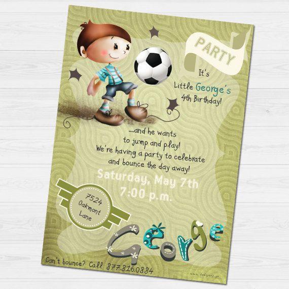 George Party invitation by babyartshop on Etsy