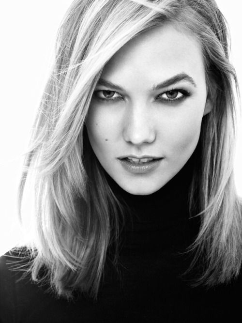 Karlie Kloss. She's so gorgeous! What a role model!