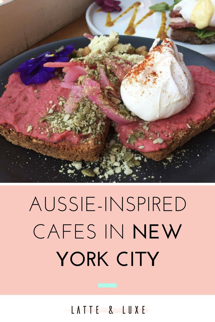 Aussie-inspired cafes in New York City