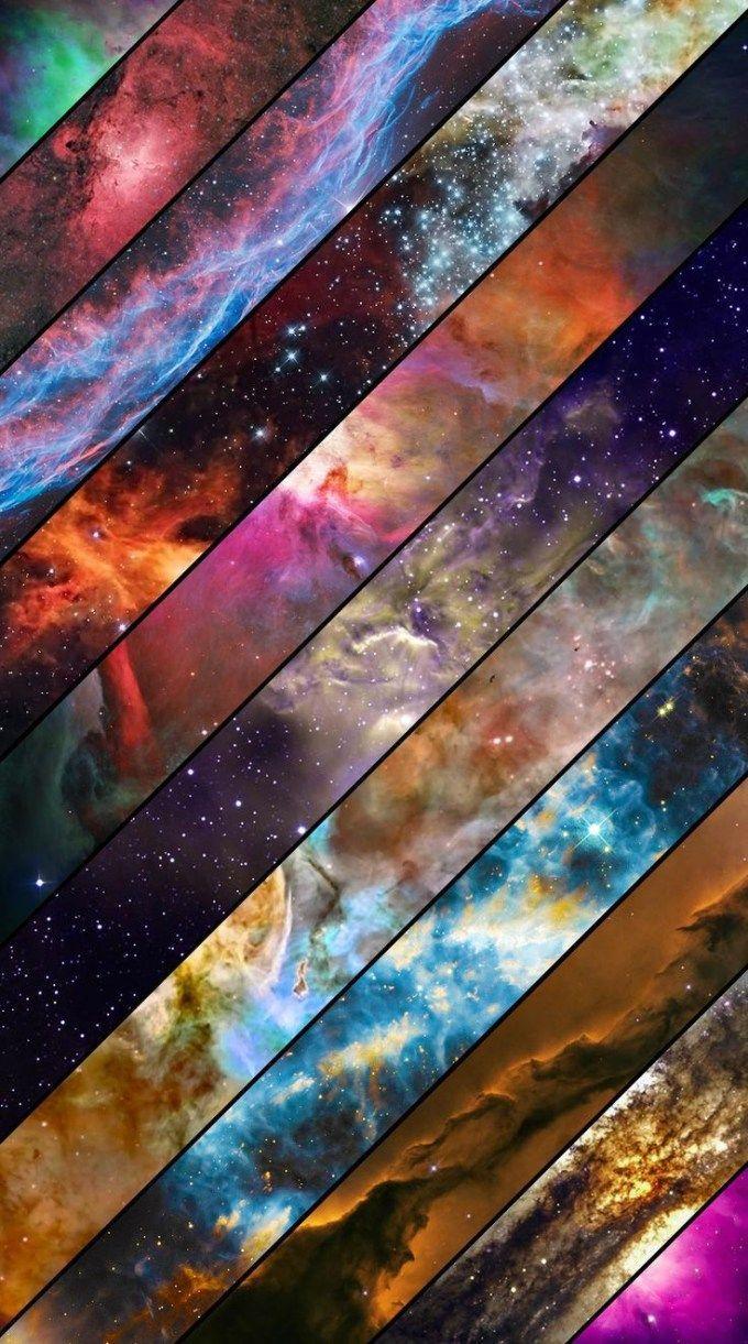 宇宙の神秘色 iPhone壁紙 Wallpaper Backgrounds iPhone6/6S and Plus