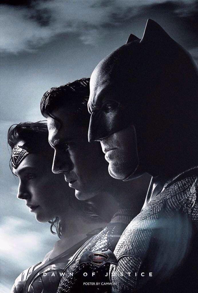 Batman v Superman Dawn of Justice poster   #batmanvsuperman   #kurttasche  #successwithkurt