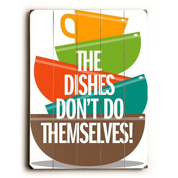 clean dishes sign - photo #15