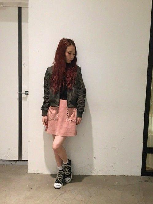 甘辛MIX♡人気の台形スカートおすすめ一覧♡トレンドの着こなしの参考にどうぞ♡
