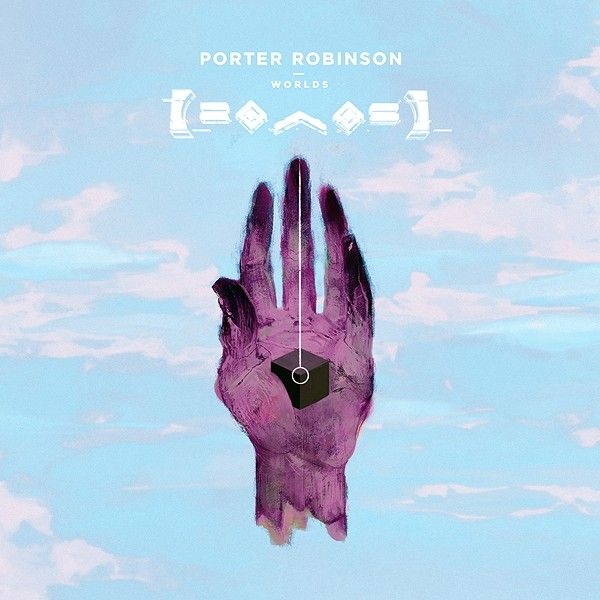 divinity album cover - Porter Robinson