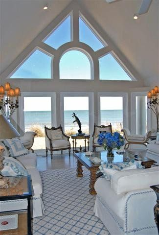 When I build my new Irish house by the sea - will add this lovely window!