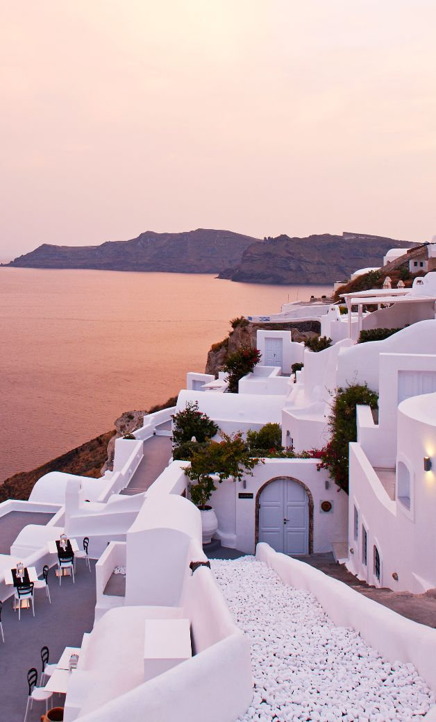 The cliffs are calling. #Greece
