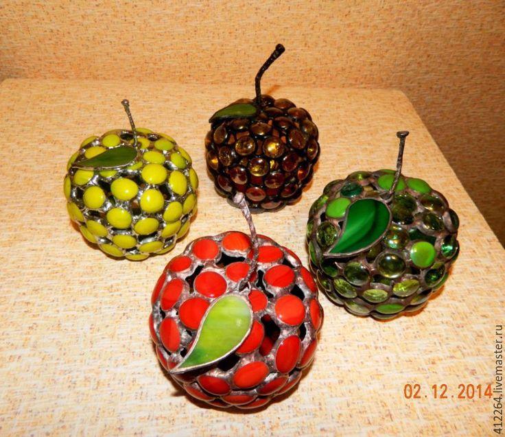 Купить Яблоко декоративное - украшение интерьера, подарок на день рождения, оригинальный сувенир, фрукт
