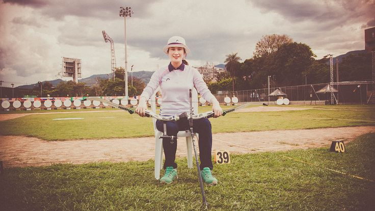 Ki Bo Bae preparing to defend #Olympic title in Rio. #archery