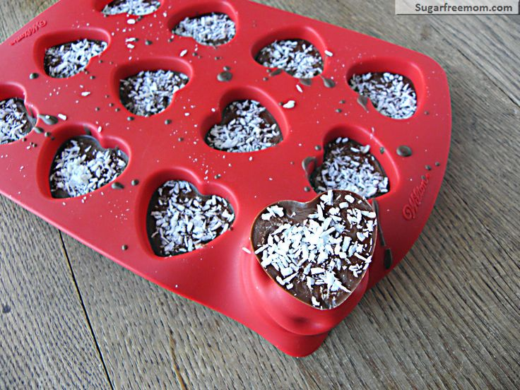 Valentines Mounds Cups