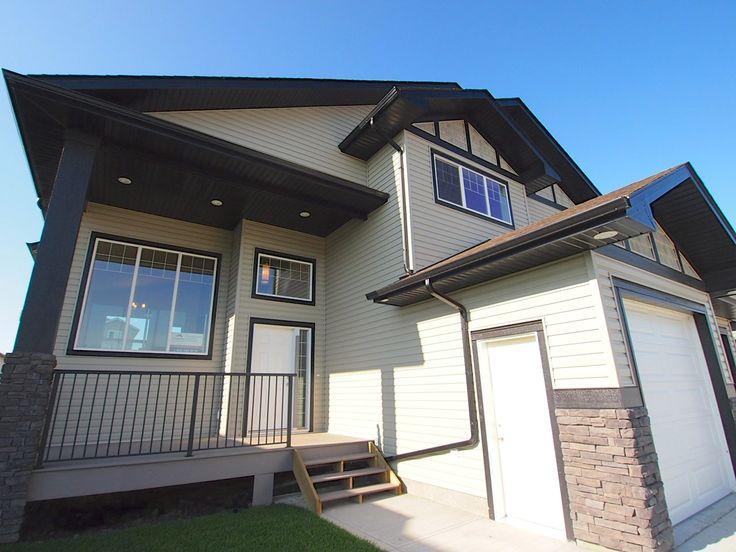 Modern Craftsman Exterior.  Simple, Clean and Neutral.