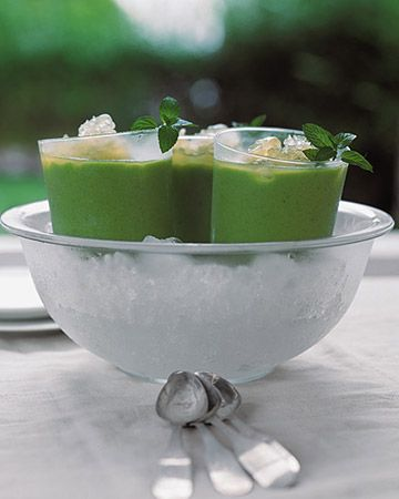 52 Chilled Soup Recipes - for the steamy summer days ahead! Yummy!